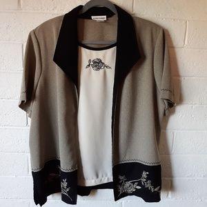 Alfred Dunner Blouse/Jacket